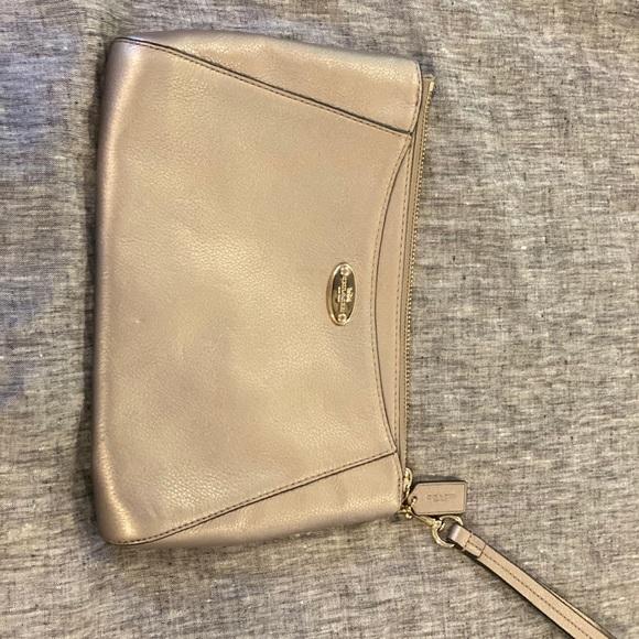 Coach Handbags - Coach oversized wristlet